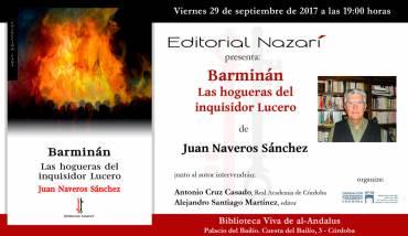 'Barminán. Las hogueras del inquisidor Lucero' en Córdoba