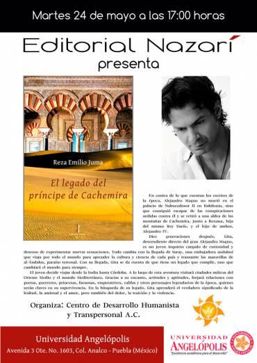 'El legado del príncipe de Cachemira' en la Universidad Angelópolis