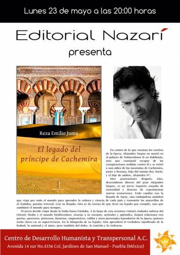 'El legado del príncipe de Cachemira' en Puebla (México)