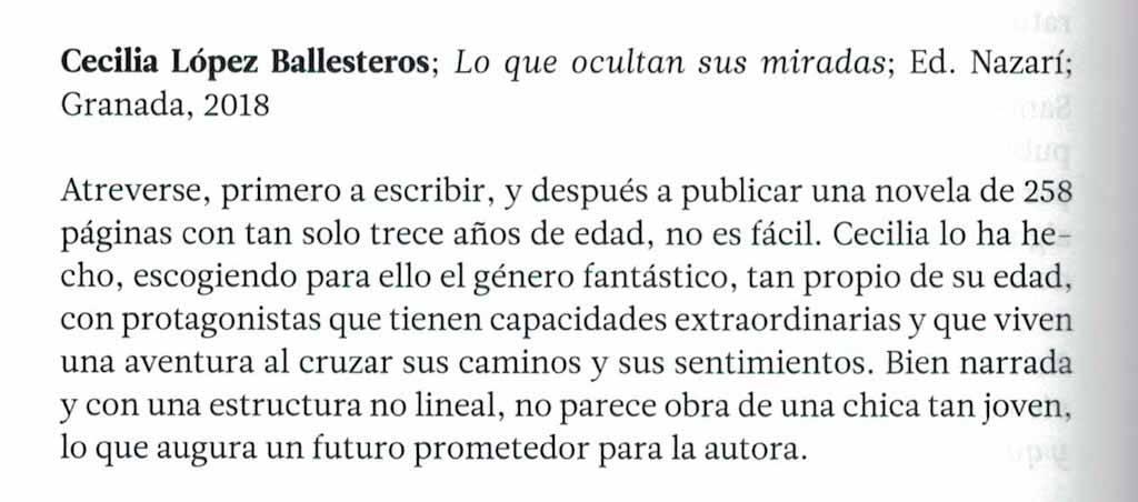 Cecilia López Ballesteros - Alhucema