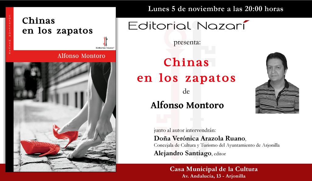 Chinas en los zapatos - Alfonso Montoro - Arjonilla