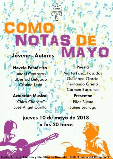 Como notas de mayo en Granada