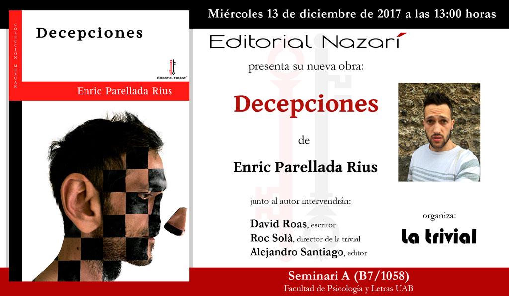 Decepciones - Enric Parellada Rius - Barcelona