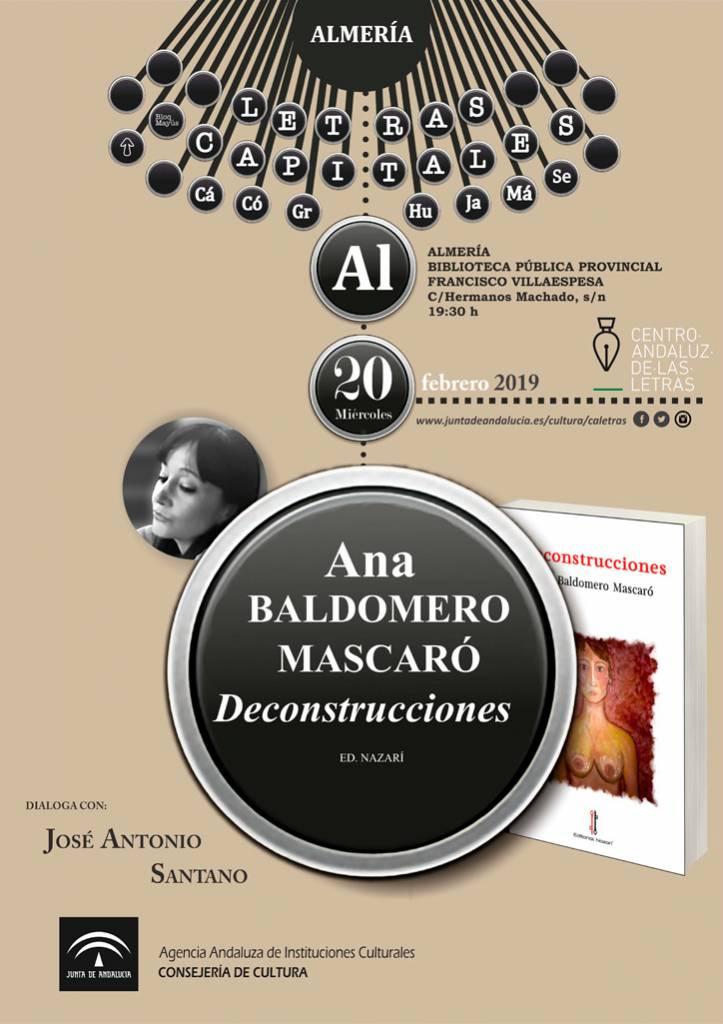 Deconstrucciones - Ana Baldomero Mascaró - Almería