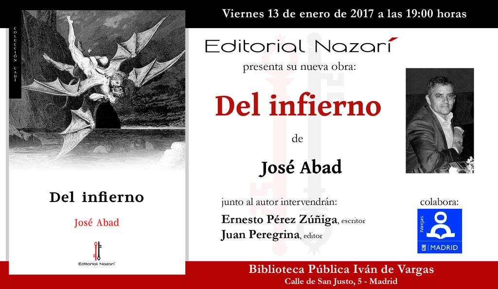 Del infierno - José Abad - Madrid