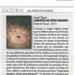 Cuentos de otro mundo - Ángel Olgoso - Diario Córdoba