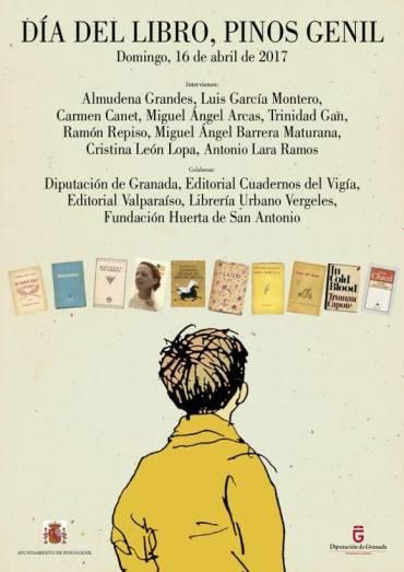 'El creador de ánimas' en el Día del Libro de Pinos Genil