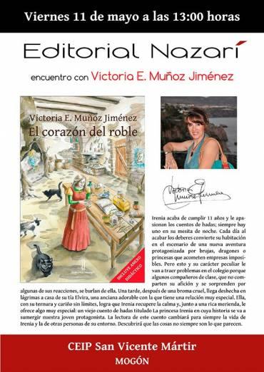 Victoria E. Muñoz Jiménez en el CEIP San Vicente Mártir