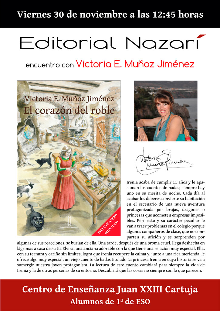 El corazón del roble - Victoria E. Muñoz Jiménez - Juan XXIII Cartuja