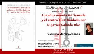 Los años sesenta en Granada y el centro EICU fundado por D. Javier Galindo Blas - Carmina Moreno Arenas - Granada