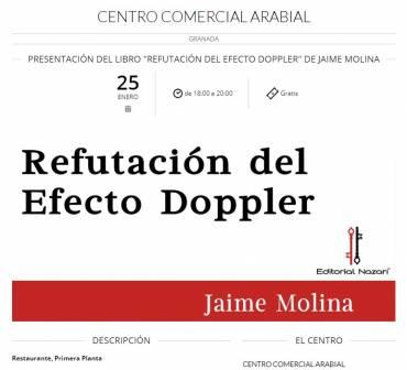 'Refutación del efecto Doppler' en El Corte Inglés de Granada