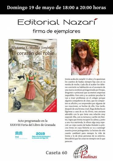 Firma de 'El corazón del roble' en Paulinas – FLG