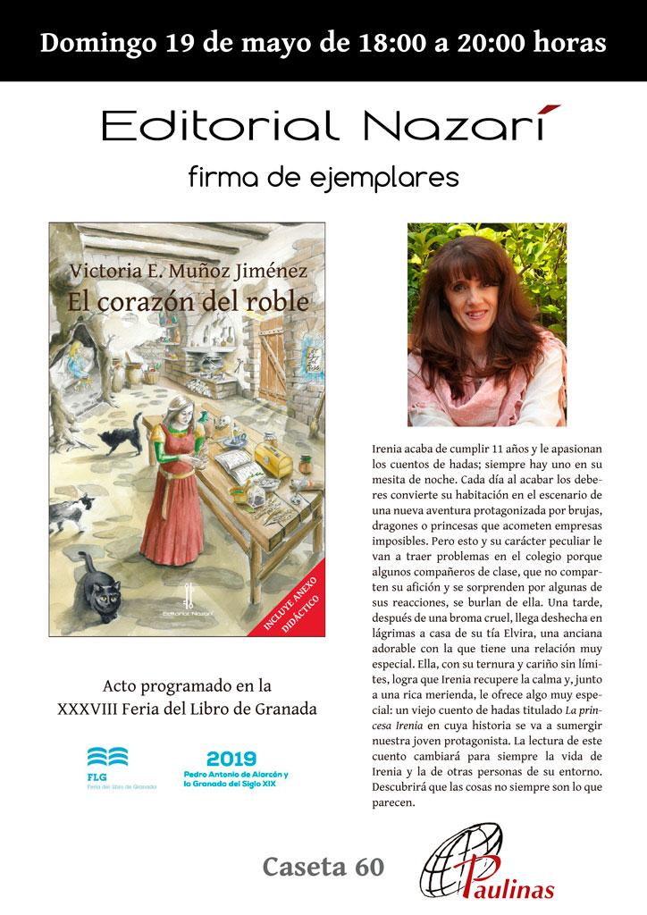 El corazón del roble - Victoria E. Muñoz Jiménez - FLG - Paulinas