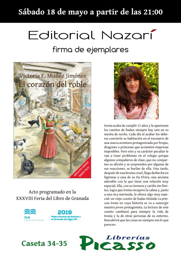El corazón del roble - Victoria E. Muñoz Jiménez - FLG - Picasso