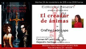 El creador de ánimas - Cristina León Lopa - Granada