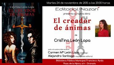 'El creador de ánimas' en Granada