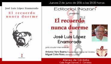 'El recuerdo nunca duerme' en Córdoba