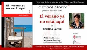 El verano ya no está aquí - Cristina Gálvez - Granada