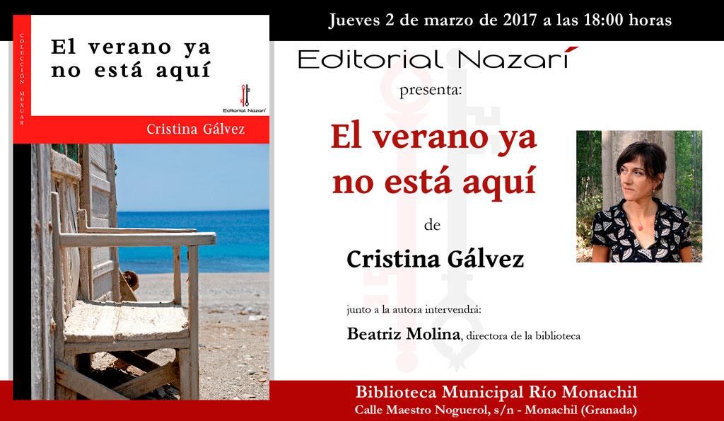 El verano ya no está aquí - Cristina Gálvez - Monachil