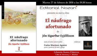 'El náufrago afortunado'en Madrid
