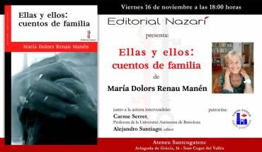 'Ellas y ellos: cuentos de familia' en Sant Cugat