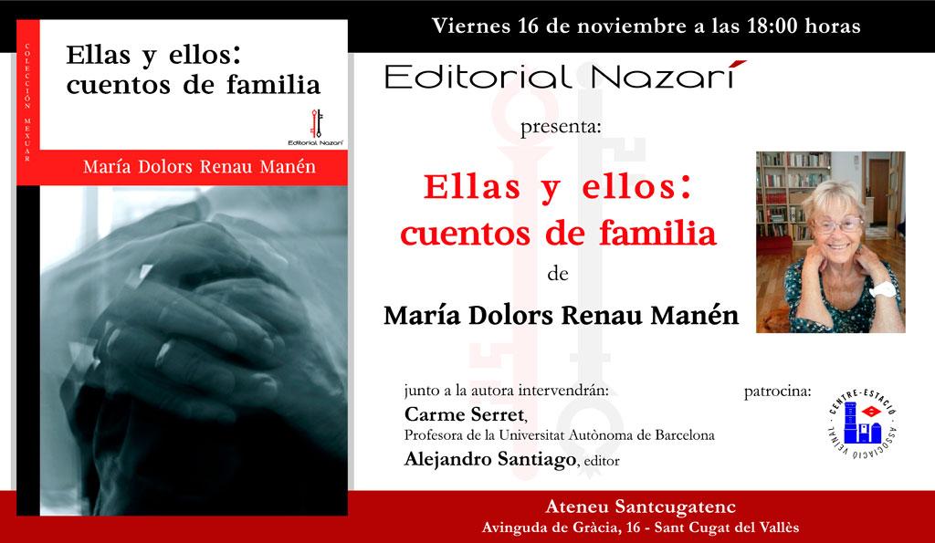 Ellas y ellos: cuentos de familia - María Dolors Renau Manén - Sant Cugat