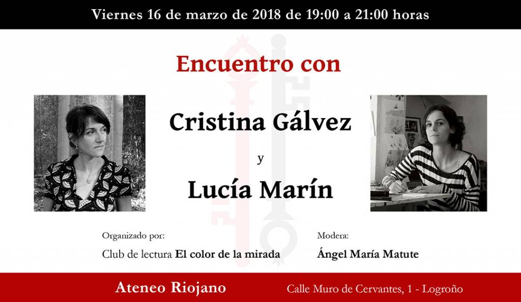 Cristina Gálvez - Lucía Marín - Ateneo Riojano