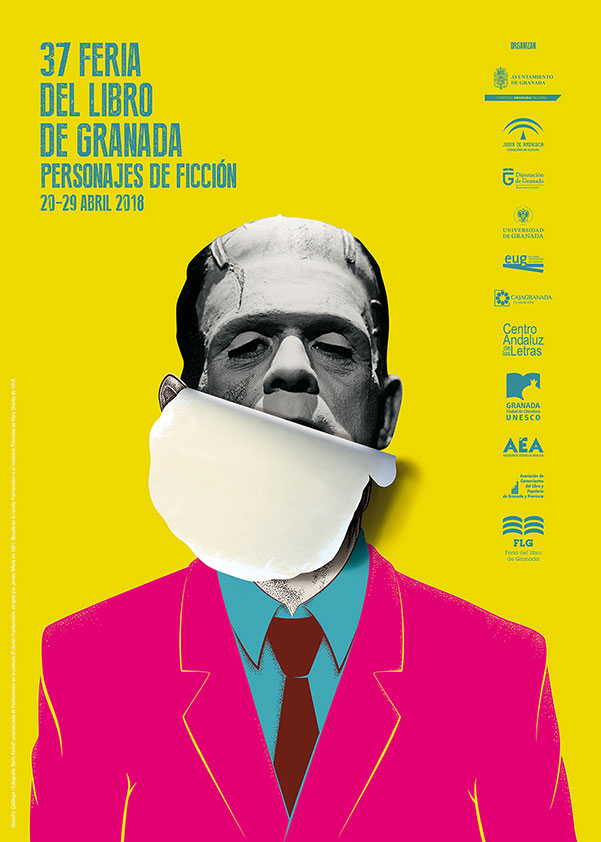 Feria del Libro de Granada - FLG18 - Cartel