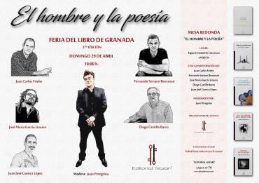 Mesa redonda'El hombre y la poesía'en la FLG