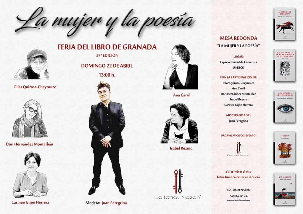 La mujer y la poesía - Feria del Libro de Granada - FLG18