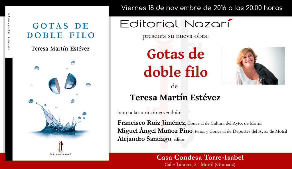 Gotas de doble filo - Teresa Martín Estévez - Motril
