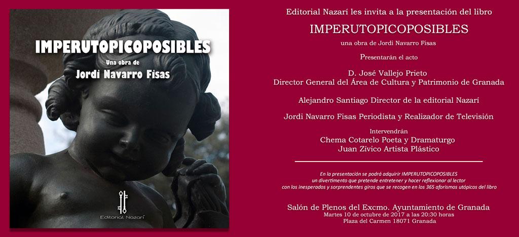 Imperutopicoposibles - Jordi Navarro Fisas - Granada