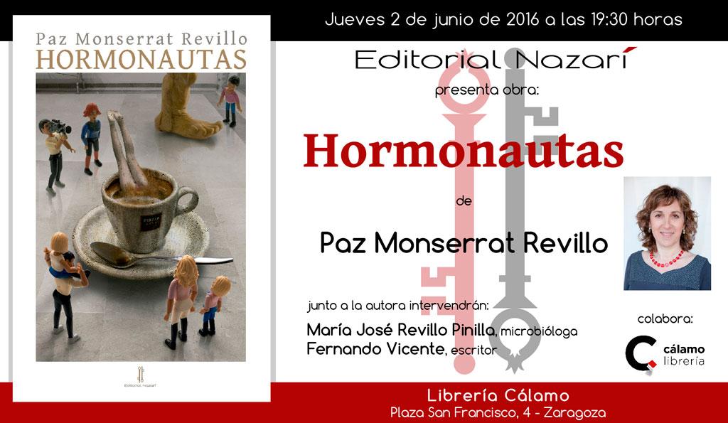 Hormonautas - Paz Monserrat Revillo - Zaragoza
