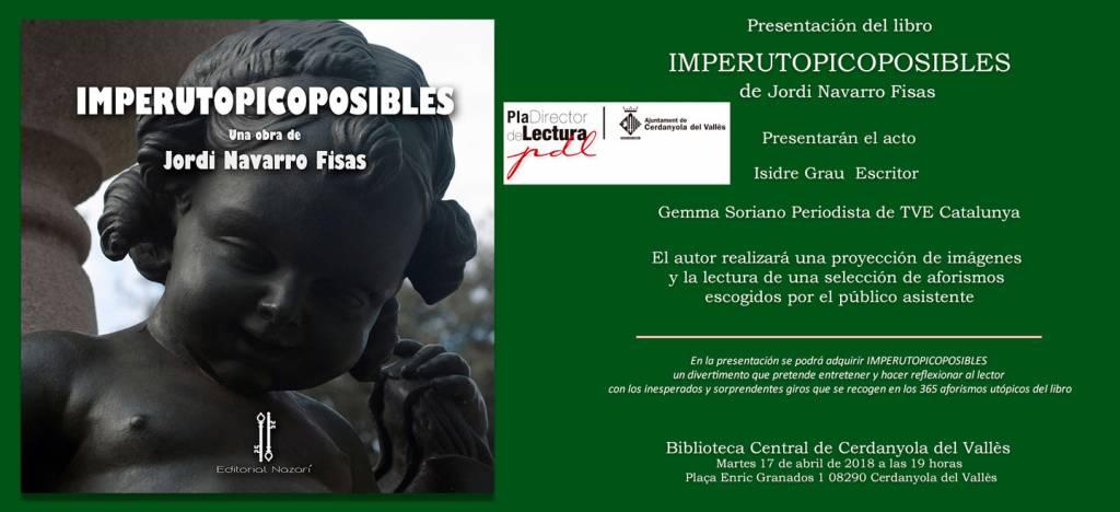 Imperutopicoposibles - Jordi Navarro Fisas - Cerdanyola