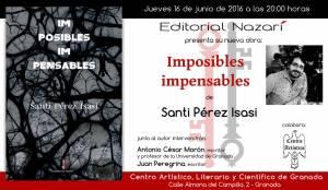 Imposibles impensables - Santi Pérez Isasi - Granada