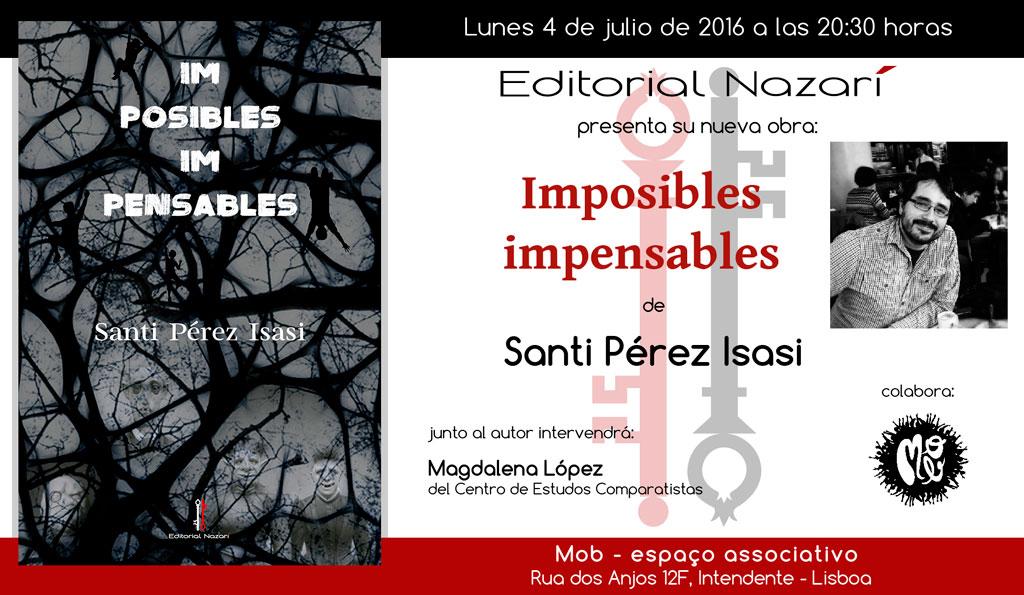 Imposibles impensables - Santi Pérez Isasi - Lisboa
