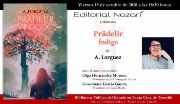'Prädelir: Índigo' en Santa Cruz de Tenerife
