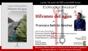 Hilvanes del agua - Francisco Beltrán Sánchez - Fuente Vaqueros