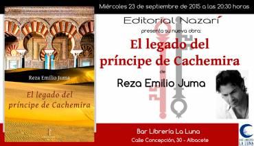'El legado del príncipe de Cachemira' en Albacete