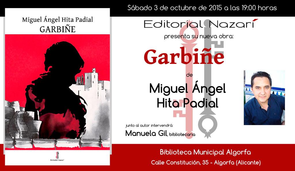 Garbiñe - Miguel Ángel Hita Padial - Algorfa