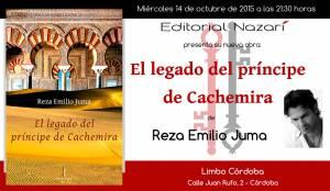 El legado del príncipe de Cachemira - Reza Emilio Juma - Córdoba