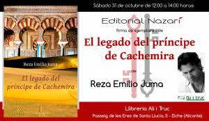 El legado del príncipe de Cachemira - Reza Emilio Juma - Elche