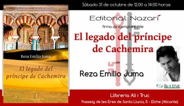 'El legado del príncipe de Cachemira' en Elche
