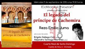 El legado del príncipe de Cachemira - Reza Emilio Juma - Granada