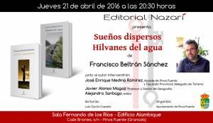 Sueños dispersos - Hilvanes del agua - Francisco Beltrán Sánchez - Pinos Puente