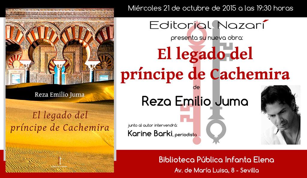 El legado del príncipe de Cachemira - Reza Emilio Juma - Sevilla