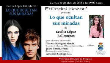 'Lo que ocultan sus miradas'en la Feria del Libro de Peligros