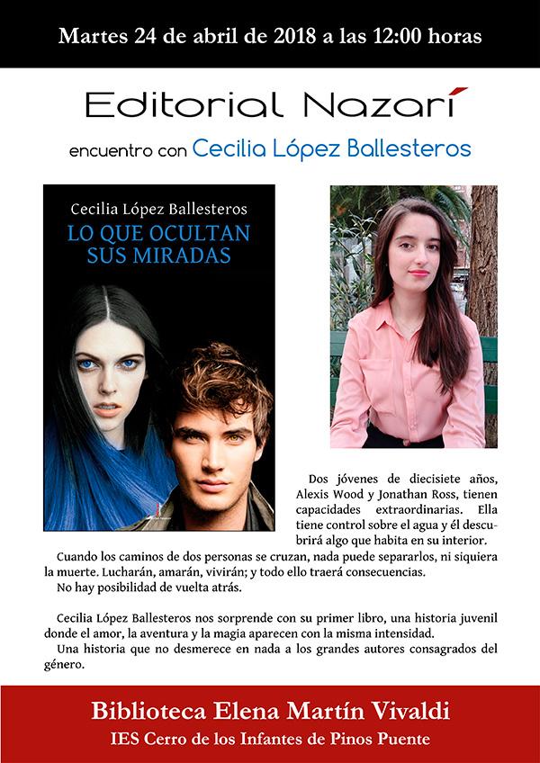 Lo que ocultan sus miradas - Cecilia López Ballesteros - Pinos Puente