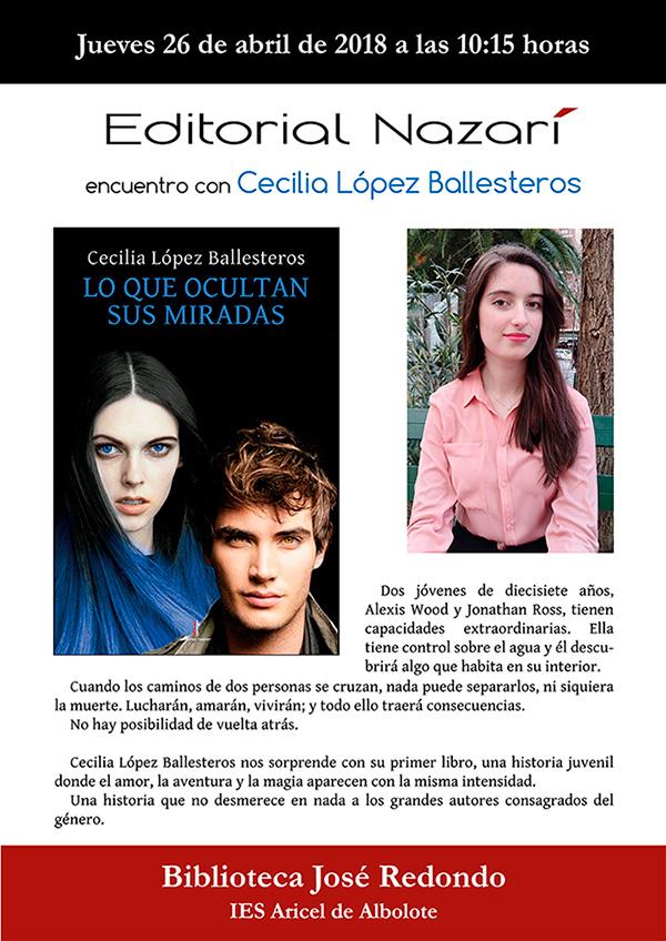 Lo que ocultan sus miradas - Cecilia López Ballesteros - Albolote