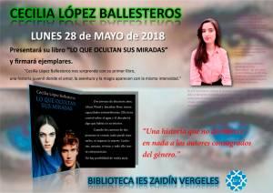 Lo que ocultan sus miradas - Cecilia López Ballesteros - Granada